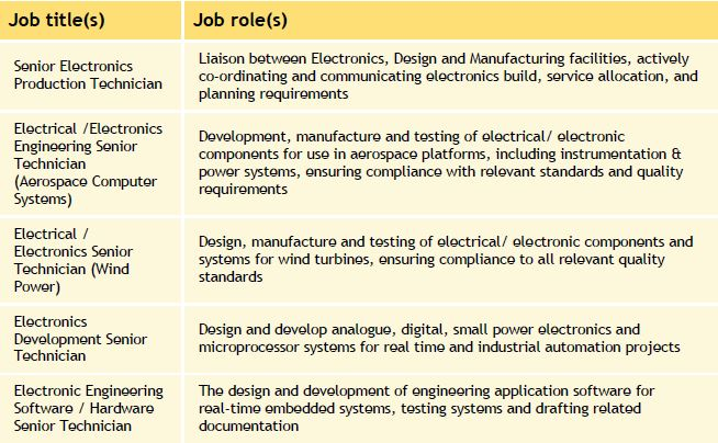 Electrical / Electronic Manufacturing Engineering L4